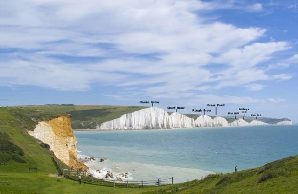 named cliffs by rogerJ