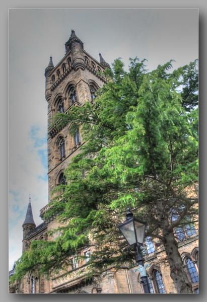 Bell Tower Glasgow University by digital_boi