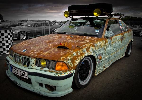 Rat Rod BMW by davidburleson