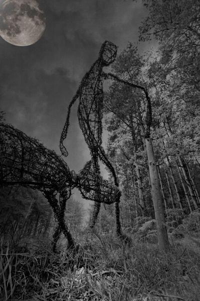 Man and Dog by Robert_Jones
