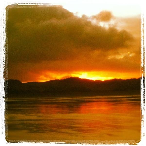 Saunton sands daybreak before I went surfing by sean007