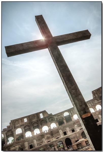 Colosseum Cross by TrevBatWCC