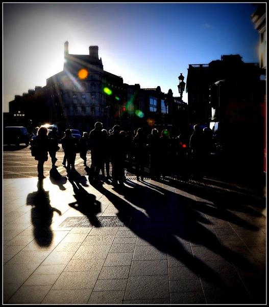 Saturday Shadows by BarryC123