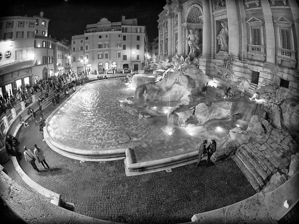 night fountain by Joao_Lopes