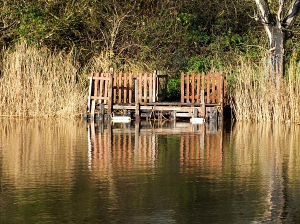 reflections on the Norfolk Broads by sedonamoonshine