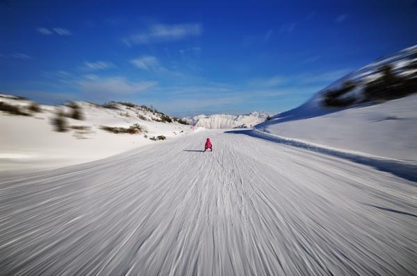 Skiing in Ifen, Austria by MAK54