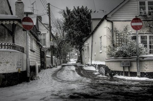 Snow Entry by hi14ry