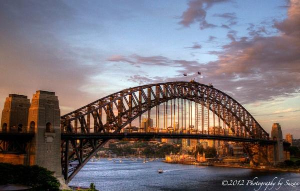 Sydney Harbour Bridge by PhotographyBySuzan