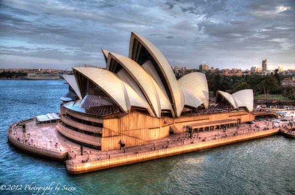 The Sydney Opera House by PhotographyBySuzan
