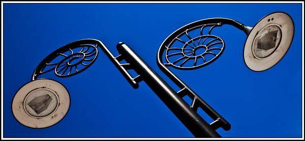 Ammonite Lamp Post by henry