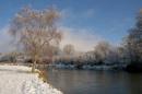 Winter on the Hampshire Avon.