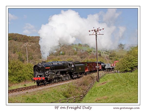 9F on Freight Duty by GlynnisFrith