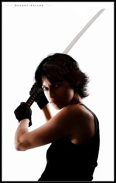 08155 - Ninja Sandra by Gernot