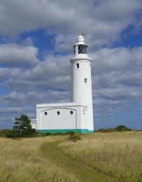 Hurst Point Lighthouse.