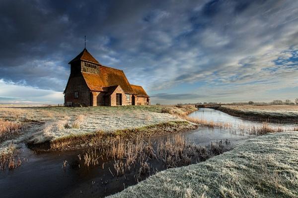The Church on the marsh. by derekhansen