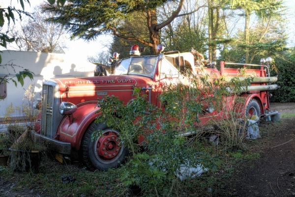 Arcville Fire Dept by TonyBrooks