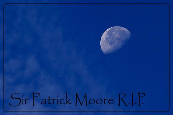 Sir Patrick Moore RIP by paganatheart