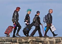 Cramond Island Punks
