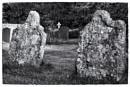 Headstones and Cross by Nikonuser1