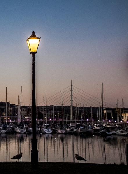 Swansea Marina by Bingsblueprint