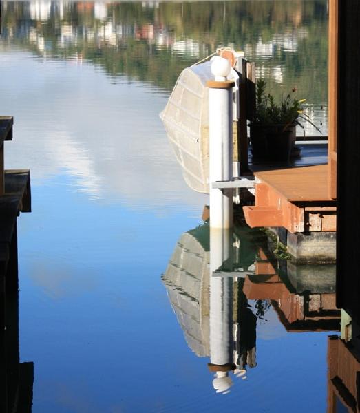 Boat Reflection by photopix12