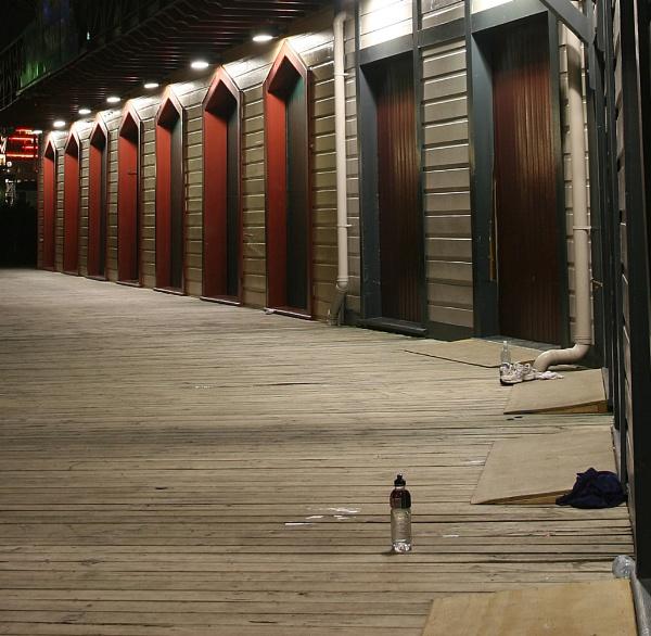 Boat sheds Wellington New Zealand by photopix12