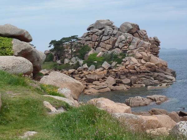 Pink granite by Meheecho