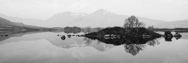 Monochrome Silence... by Scottishlandscapes