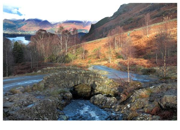 Ashness bridge, Nr Keswick, Lake District by crapsnap