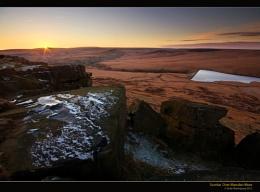Sunrise Over Marsden Moor