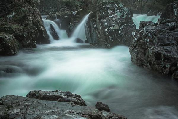 Betws-y-Coed Falls by mlanda