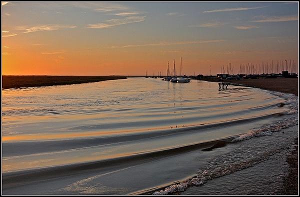 North Norfolk Sunset by fentiger