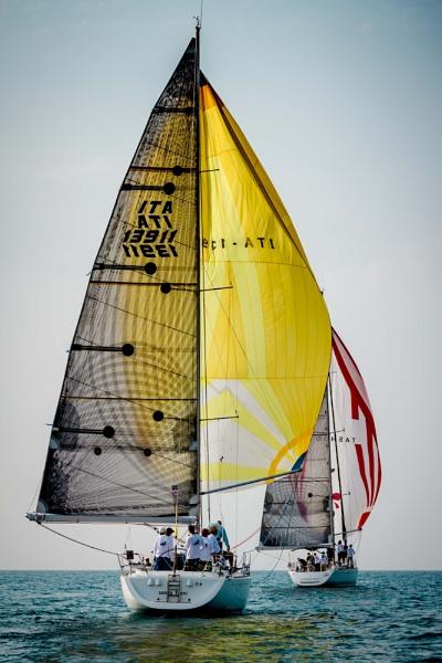 sailing race Tel-aviv, israel by sigalpetersen
