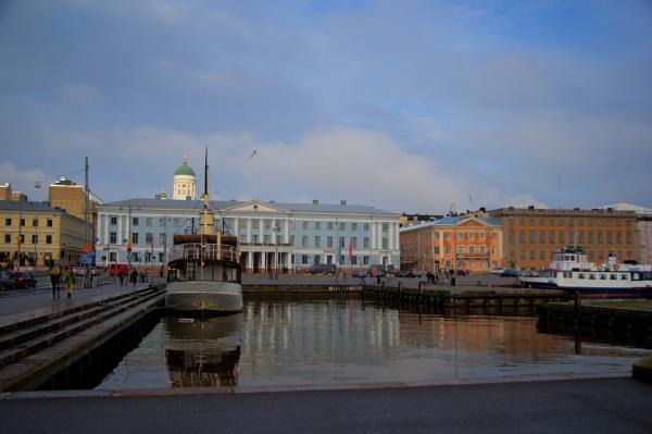 Harbor of Helsinki in autumn by TheKing