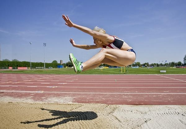 Womens Long Jump by rogerdoger