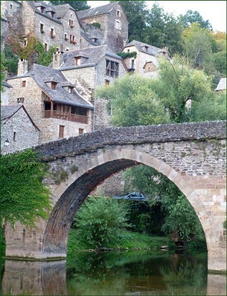 Belcastel, France by JuBarney