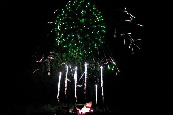 Firework Scene by SH87