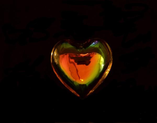 Rainbow heart by Alda