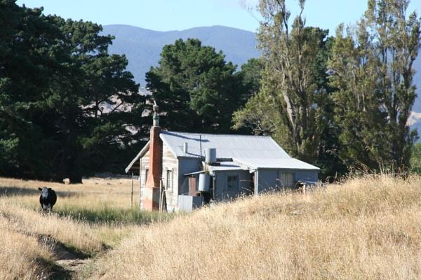 Old Farmhouse in the Wairarapa Wellington New Zealand by photopix12