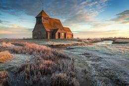 The Church on the marsh.III