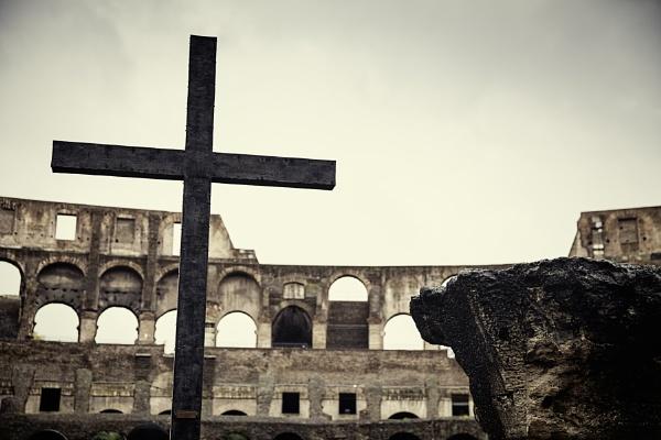 A Gladiators Faith by jameswardphotography
