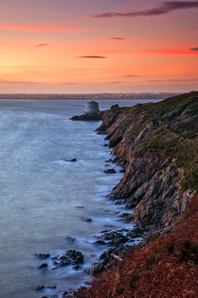 Dublin sunset by BrainResin