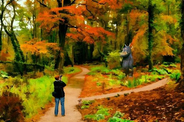 Alison in Wonderland by Stillbase