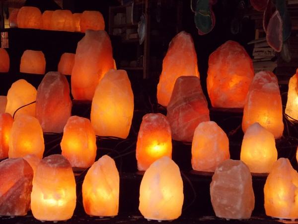 Rock lights by Weasellady