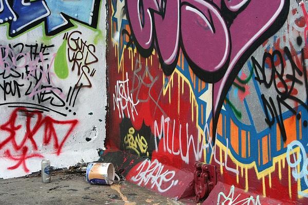 Spilt Paint by horses4me