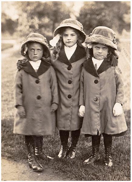 Three Little Girls by bwlchmawr