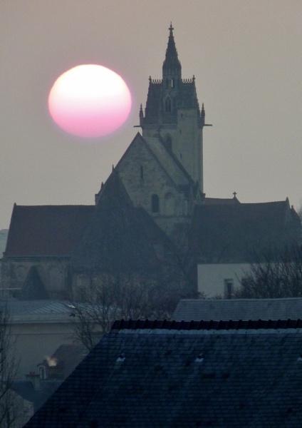 Caen Sunset by EyesFront