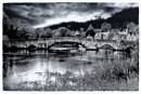 Aylesford Bridge B&W version 2 by Nikonuser1