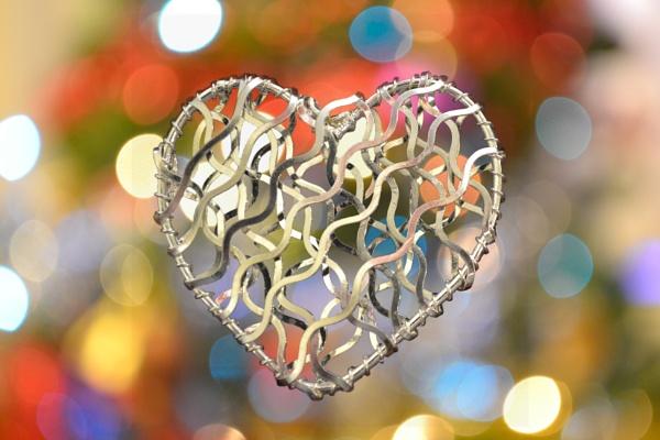 Christmas heart by Alda