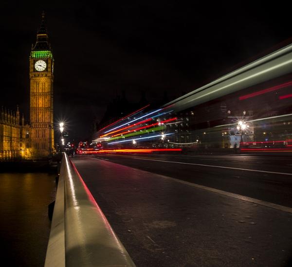 London bus by hibbs